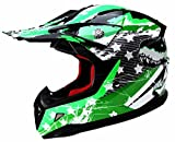 YEMA Casque Motocross Enfant ECE Homologué YM-211 Casque DH Enduro Quad - L
