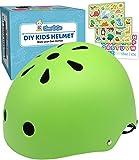 Simply Kids Casque Velo Enfant avec Autocollants DIY I Certifié CPSC & CE Casque Enfant pour...