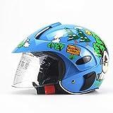 HEIRAO Casque de vélo pour Enfants, Casque de Moto pour Enfant, Casque de sécurité léger pour...