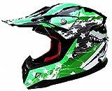 Casque Motocross Enfant ECE Homologué-YEMA YM-211 Casque DH Enduro Quad - L