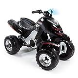 Smoby - 033050 - Quad Électronique X Power Carbone - Véhicule Electronique pour Enfant - 2 Roues...