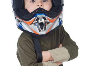 casque quad pour enfant